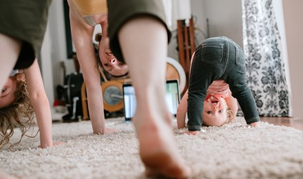 Весела йога для дітей