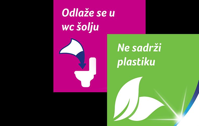 Vlažni toaletni papir koji brine i o prirodnoj sredini