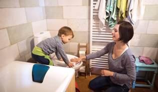 toilettentraining kinder