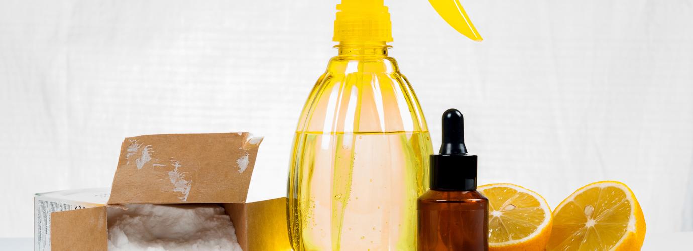 Șase produse naturale pentru a curăţa casa