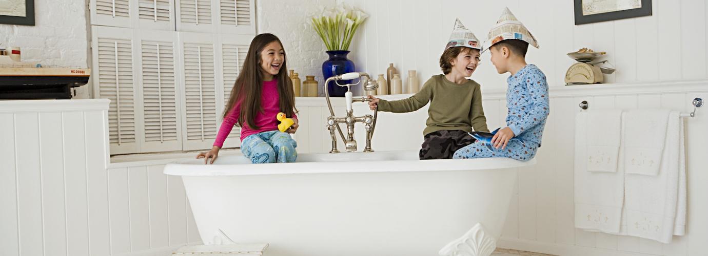 как отмыть ванную комнату