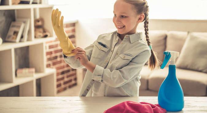 Az otthon takarítása