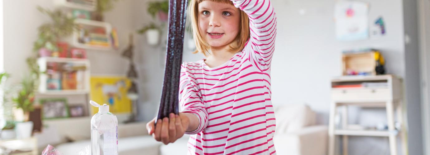 Простые рецепты слаймов для детей