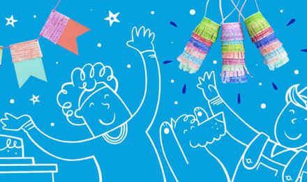 как украсить комнату на день рождения