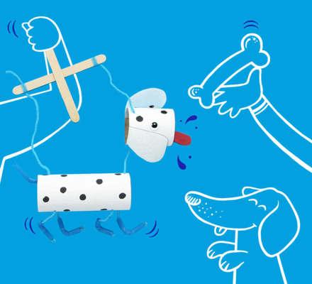 Eine Handpuppe einfach selber machen – eine Anleitung für Kinder und Eltern