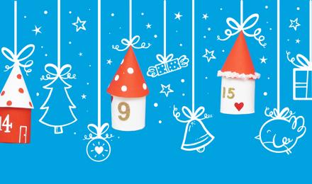 χριστουγεννιατικα ημερολογια κατασκευεσ