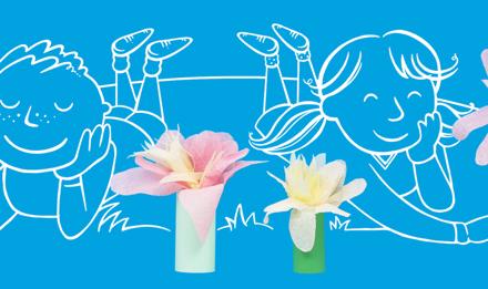 vyroba kvetin z papiru