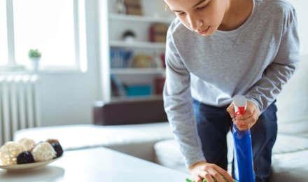 Καθαριότητα και υγιεινή στο σπίτι