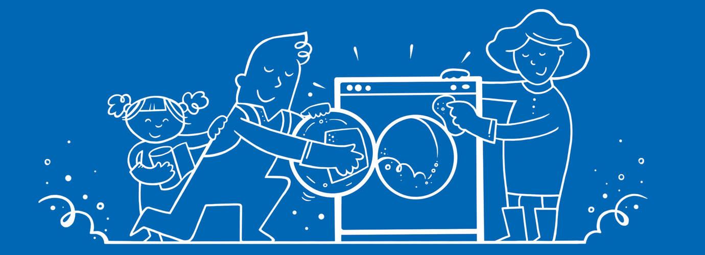 Как почистить стиральную машину в 5 шагов