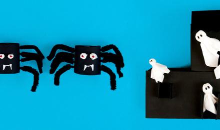 2 rém egyszerű Halloween dekoráció házilag gyerekeknek