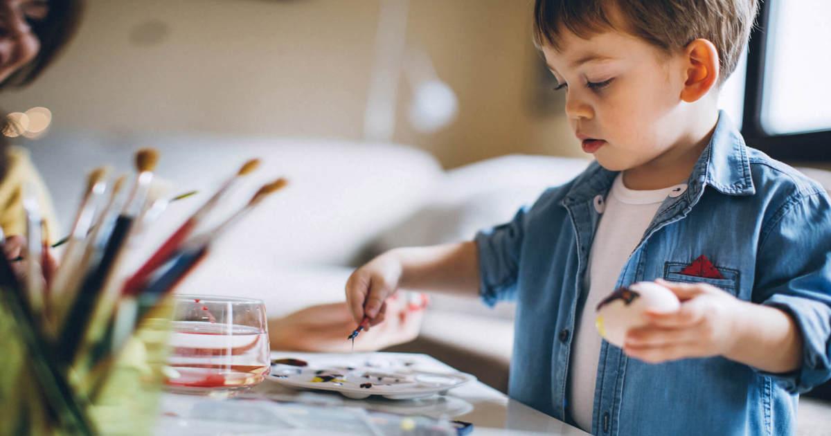 Kunst und Basteln mit Kindern | Lustige Bastelideen für ...