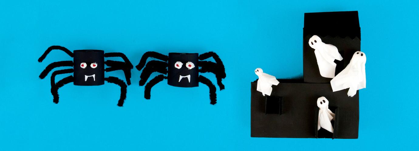 decoratiuni de halloween facute manual