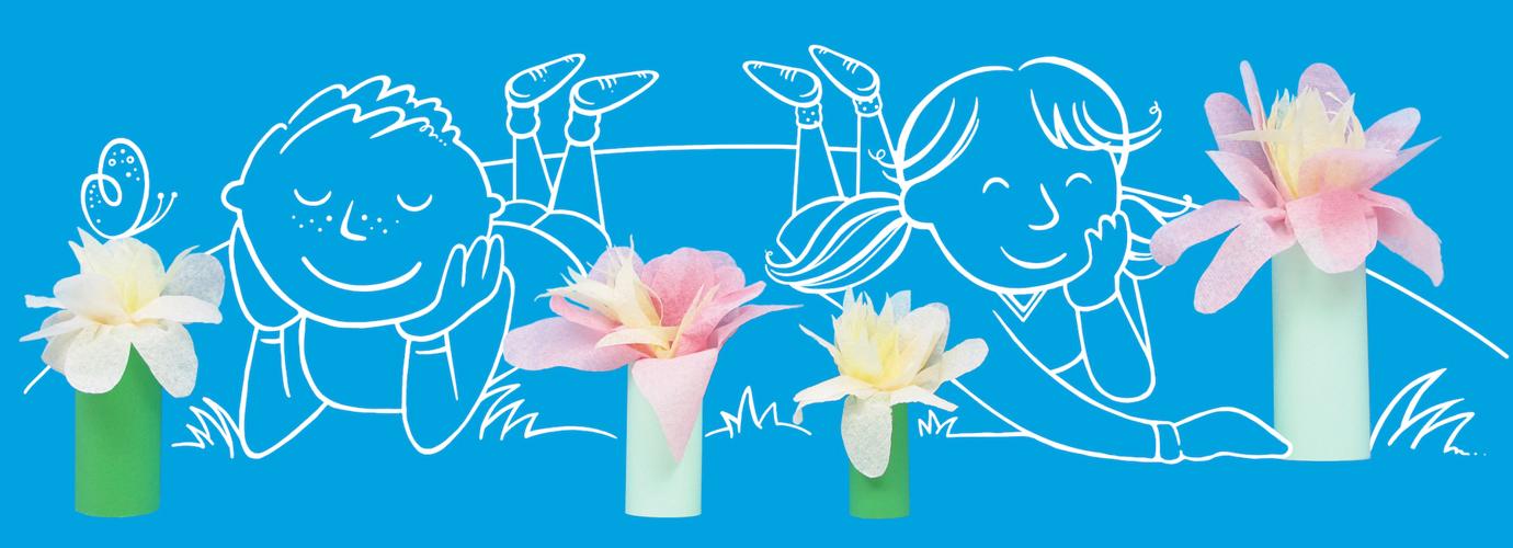 flori din hartie pas cu pas