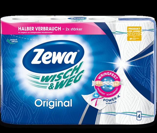 Der große Zewa Wisch&Weg Küchenrollen-Test