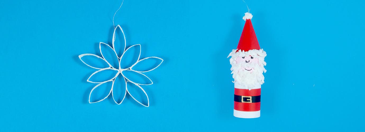 Schnelle und einfache Bastelideen für Weihnachten mit Kindern