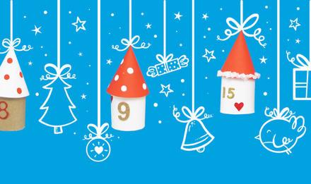 Wie Sie einen Kinder-Adventskalender selber basteln können