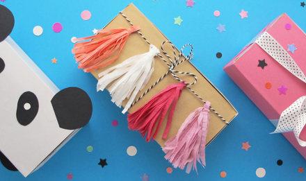 Як зробити подарункову коробку на день народження своїми руками