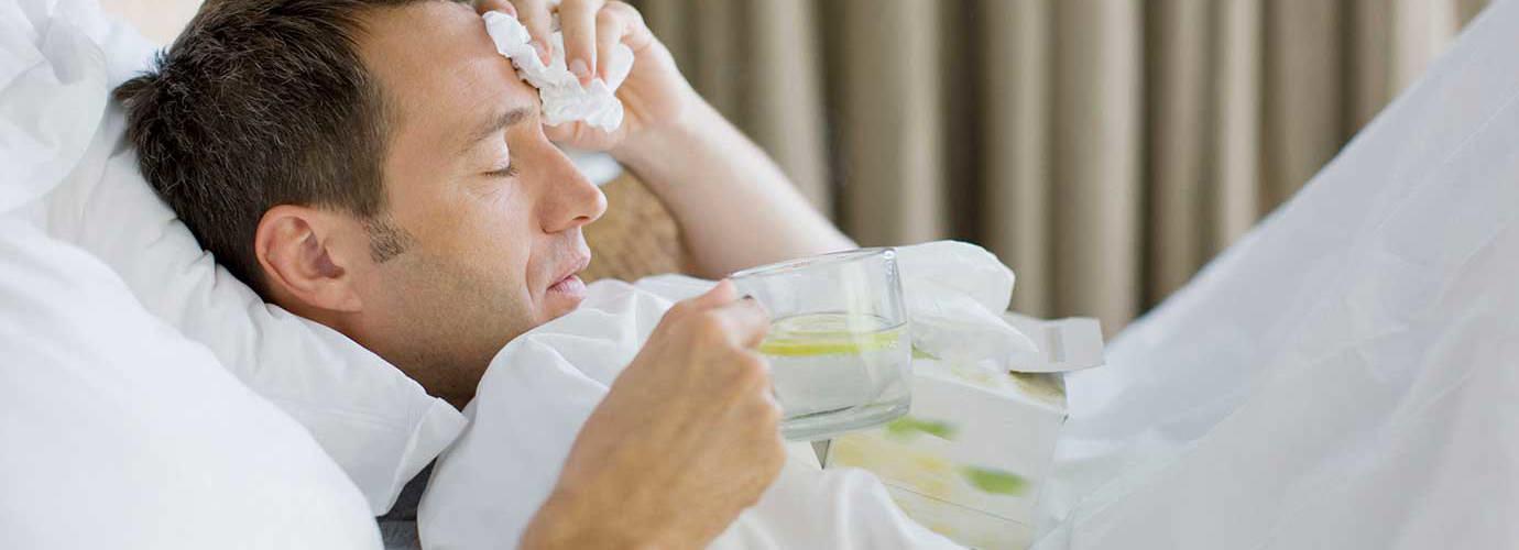 Zašto se znojimo za vrijeme prehlade i gripe