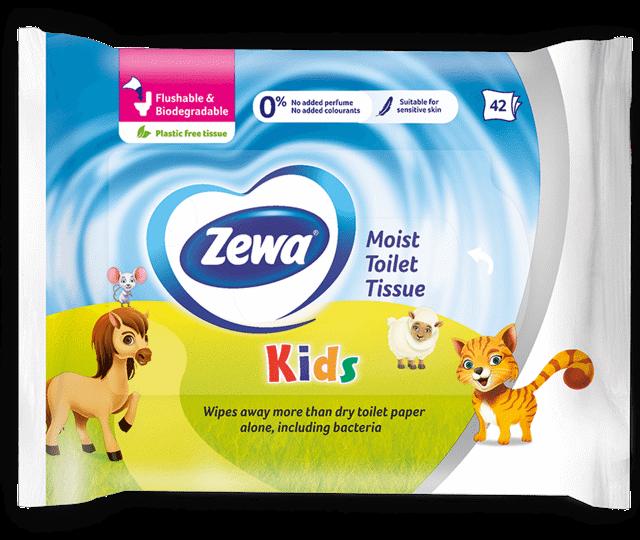 Zewa влажна тоалетна хартия