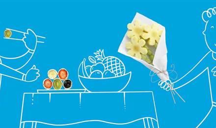 2 веселі ідеї для фруктових страв на дитяче свято