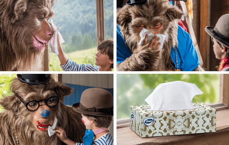 Sokoldalú és praktikus papír zsebkendők