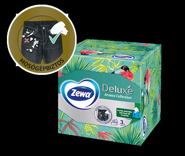 Zewa dobozos papír zsebkendők: mindig kéznél