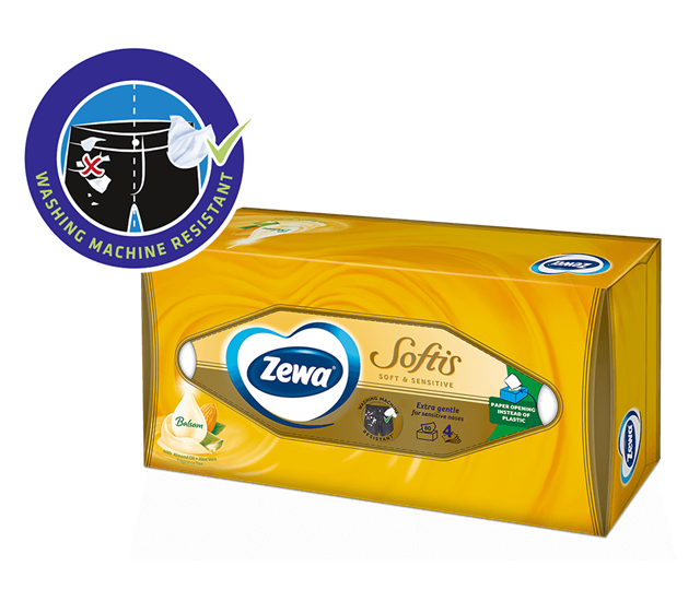 Zewa maramice u kutiji: uvijek pri ruci