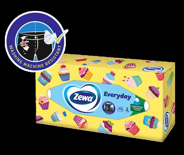 Кърпички в кутия Zewa: винаги под ръка