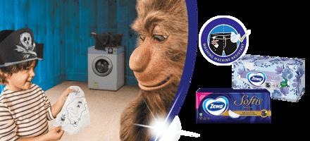 Probajte mekane Zeva maramice, tako jake da su otporne na pranje u veš mašini