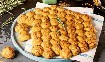 Curry-Bubble-Bread mit roten Linsen: Der etwas andere Snack