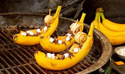 Schoko-Bananen-Schiffchen: Der perfekte, süße Abgang