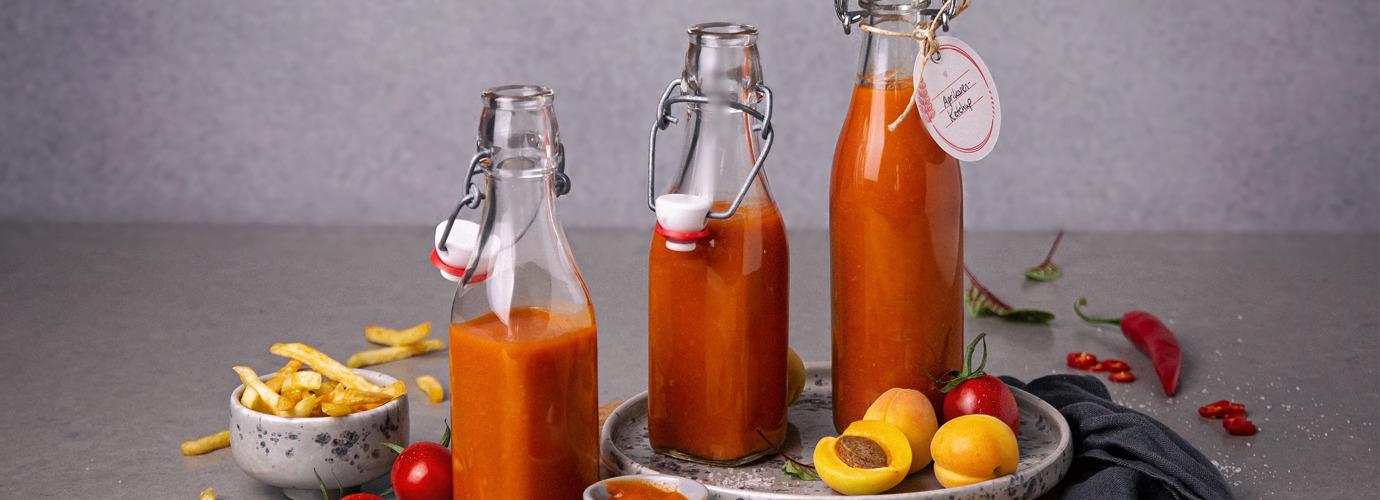 Selbstgemacht schmeckt's am besten: Tomaten-Aprikosen-Ketchup