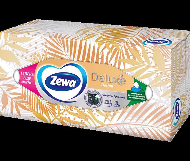 Салфетки в коробках Zewa всегда под рукой!