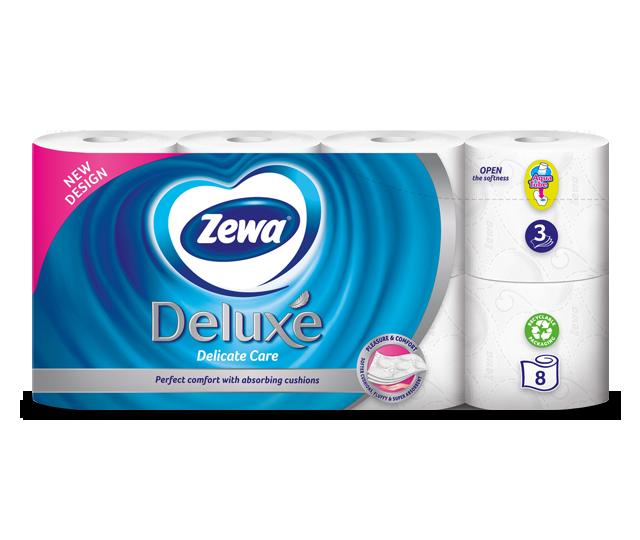Χαρτί Υγείας Zewa Deluxe
