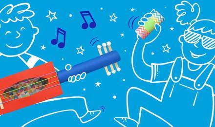 самодельные инструменты гитара 01