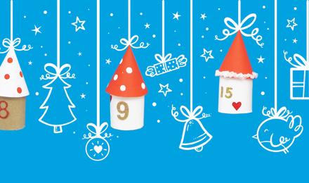 Hogyan készíts varázslatos adventi naptárat gyerekeknek?