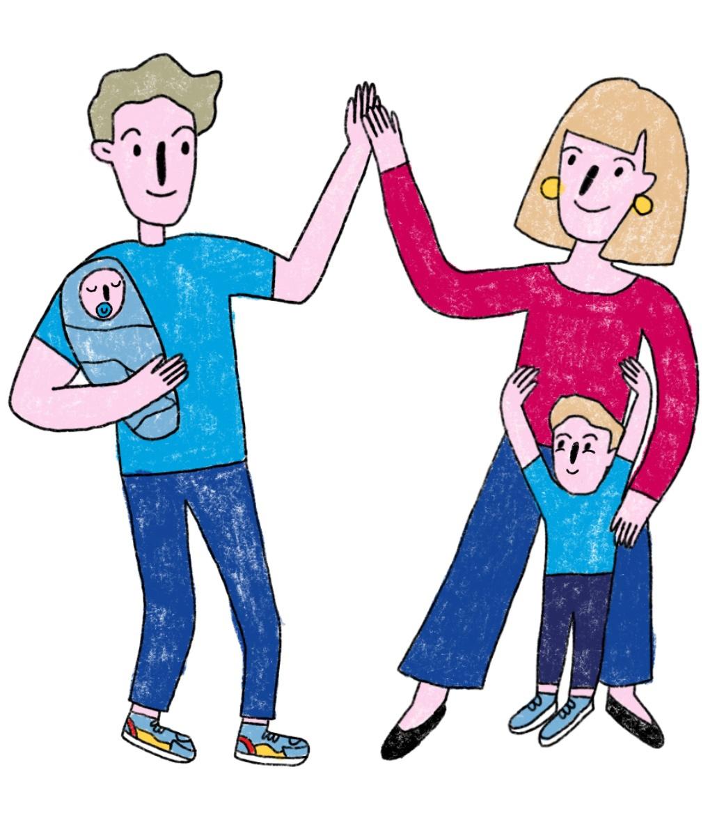 Вы — родитель в гармоничной паре