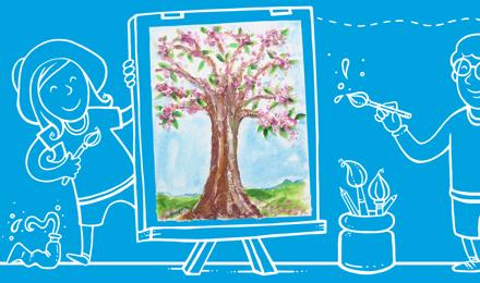 Festési ötletek gyerekeknek, minden korosztály számára
