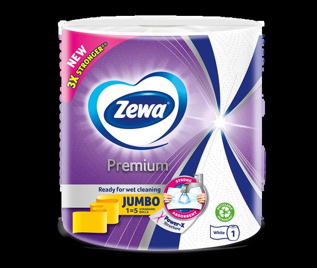Zewa prémium háztartási papírtörlők Power-X textúrával