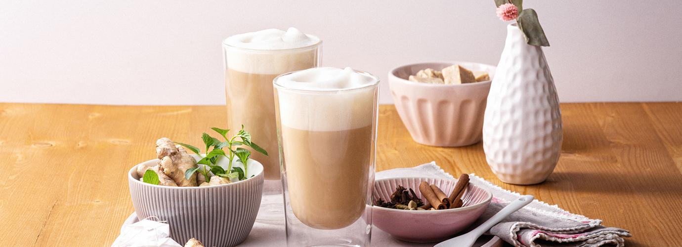 Veganer Chai-Latte