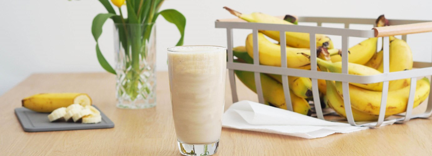 Bananen-Smoothie im Minion-Design