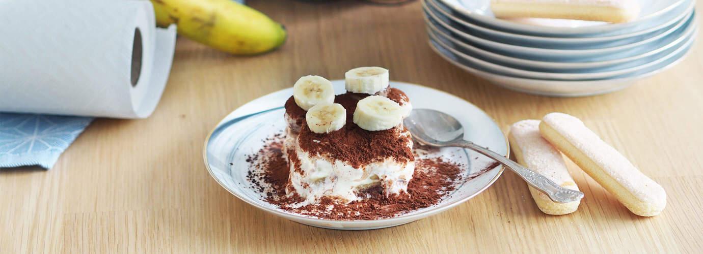 Bananen-Tiramisu