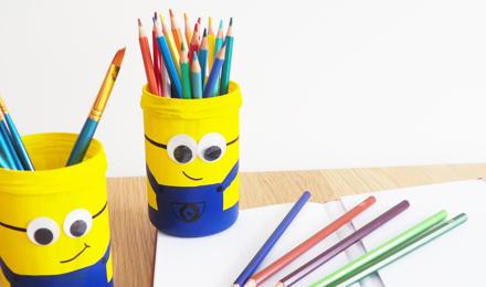 Minion-Stifte- oder Pinselhalter