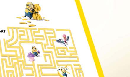 Minions-Banana-Labyrinth