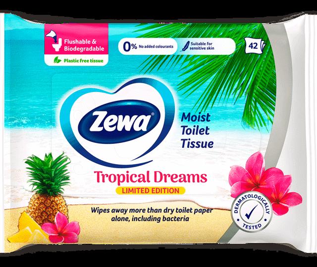Zewa nedves toalettpapír