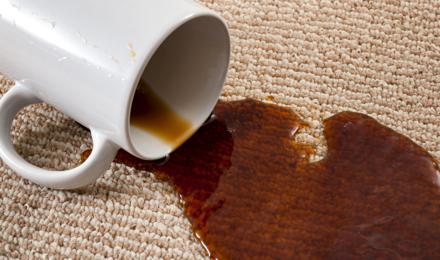 Kávéfolt a szőnyegen? Próbáld ki ezeket a tisztítási ötleteket