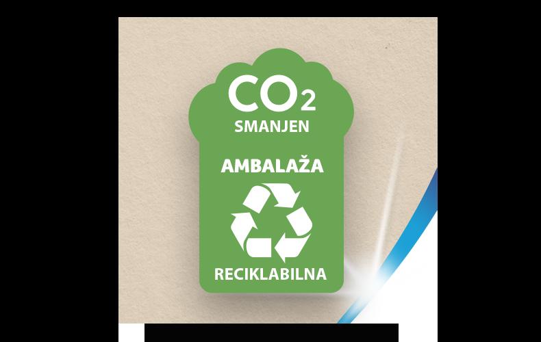 Reciklabilno pakovanje sa smanjenim CO₂