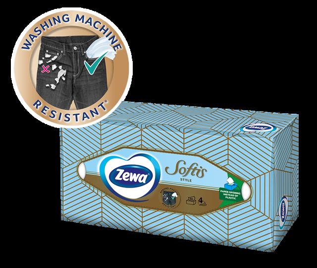 Επιτραπέζια χαρτομάντιλα Zewa: πάντα δίπλα σας