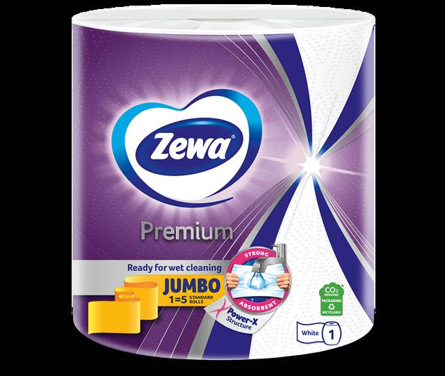 Novi Zewa Premium kuhinjski papirnati ručnici s Power-X strukturom
