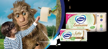 Otkrijte nove, nježne Zewa Natural Soft proizvode bez dodanih bojila, mirisa i alergena!